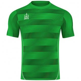 OMKA Fussballtrikot Trikot Fußball Sport Teamwear Shirt Jersey Grün