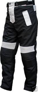 Herren Motorradhose Textilien Motorrad Hose Kombihose Schwarz/Grau