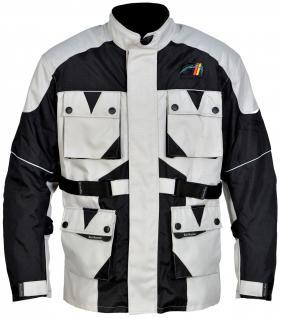 Motorrad-Jacke Motorradjacke Textilien Kombigeeignet Gr. XS-5XL - Vorschau 1