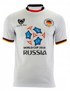 Deutschland WM 2018 Fan Trikot Fussballtrikot Fußball-Weltmeisterschaft