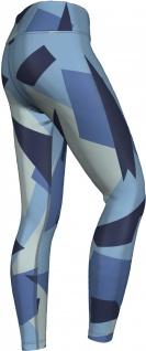 Marine Camo Leggings sehr dehnbar für Sport, Yoga, Gymnastik, Training, Tanzen & Freizeit blau - Vorschau 3