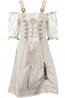 1-teiliges Midi-Dirndl Landhaus Kleid Dirndel - Vorschau 3
