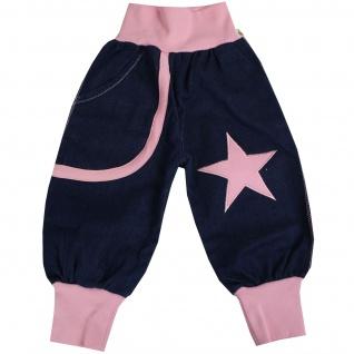 Pumphose Schlupfhose Babyhose elastischer Bund Handmade Stern