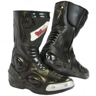 German Wear, Biker Motorradstiefel Motorrad Sport Touring Stiefel 31cm