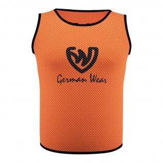 Fußball Leibchen Trainingsleibchen Markierungshemd Fußballleibchen Orange