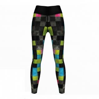 GermanWear, Neo Pixels sehr dehnbar Fitness Sport Yoga Gymnastik Training Tanzen Freizeit