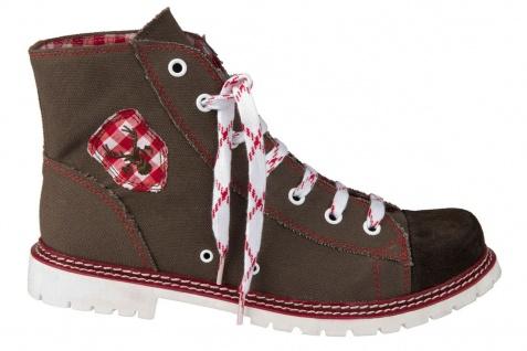 Trachtenschuhe Trachten Sneakers Jack 586-H Ruß/Rot