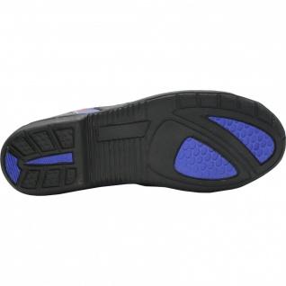 German Wear, Biker Motorradstiefel Motorrad Touring Stiefel stiefletten schwarz, blau/rot 17cm - Vorschau 4
