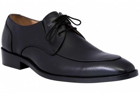 official photos 8da75 d767b German Wear, Derby Business-schuhe Halbschuhe Lederschuhe mit Ledersohle  Schuhe schwarz
