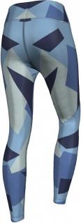 Marine Camo Leggings sehr dehnbar für Sport, Yoga, Gymnastik, Training, Tanzen & Freizeit blau - Vorschau 2