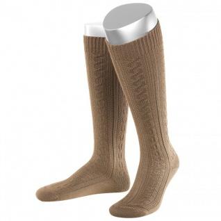 Lange Damen Trachtensocken Trachtenstrümpfe Zopf Socken