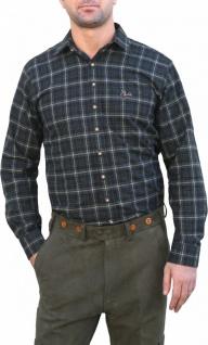 Jagdhemd für jagd dunkelgrün/kariert