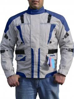 German Wear, Textilien Jacke Motorradjacke Kombigeeignet Royalblau