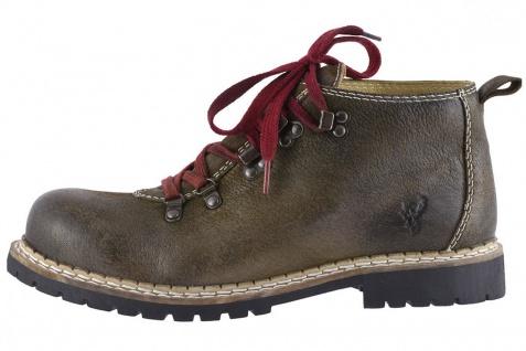 Trachtenschuh Haferlschuhe Boots Jonah 512-H Ziegenleder Braun