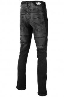 BULLDT Damen Motorradjeans Motorradhose Denim Jeans Hose Futter Abriebfest aus Aramidfasern Jeans inkl. Protektoren - Vorschau 3