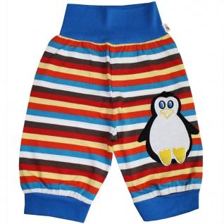 Pumphose Schlupfhose Babyhose elastischer Bund Handmade Pinguin