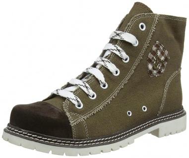 Trachtenschuhe Trachten Sneakers Jack 586-H Ruß/Braun