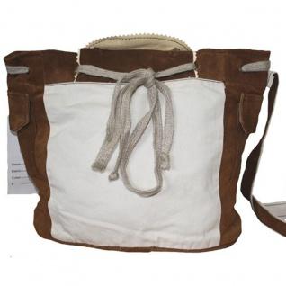 Damen Trachtentasche Dirndl Taschen Trachten ledertasche Kastanie - Vorschau 2