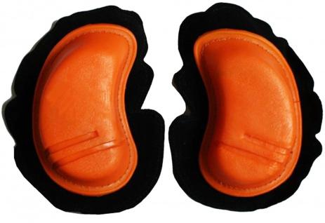 Motorrad Knieschleifer Motorradhosen Motorradkombi Knee Slider, Orange
