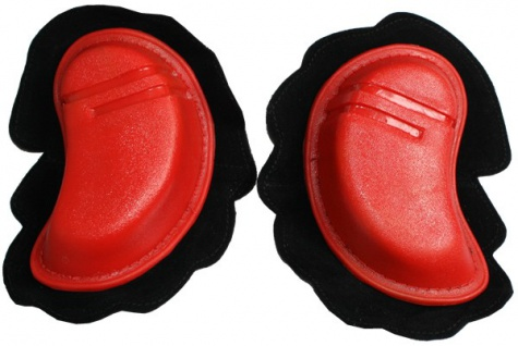 Motorrad Knieschleifer Motorradhosen Motorradkombi Knee Slider, Rot