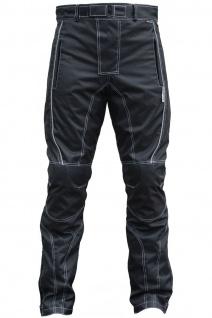 2-teiler Motorradkombi Cordura Textilien Motorradjacke & Motorradhose Schwarz - Vorschau 5