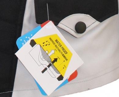 Motorrad-Jacke Motorradjacke Textilien Kombigeeignet Grau/Schwarz - Vorschau 3