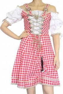 1-teiliges Midi-Dirndl Landhaus Kleid Dirndel - Vorschau 5