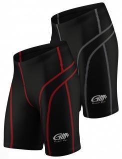Radhose Fahrradhose Radlerhose Gepolsterte Coolmax Radler-Shorts