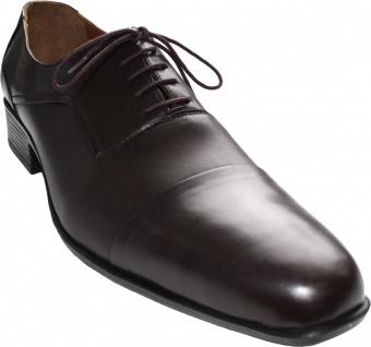 German Wear, Business-schuhe Halbschuhe Lederschuhe Rindsleder Schuhe braun