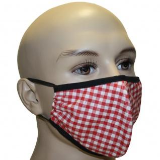 2-lagige Mund- und Nasenmaske Mundschutz aus Baumwolle