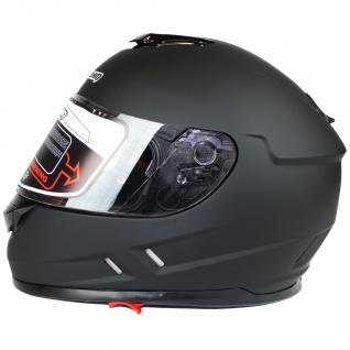 Marushin 889 Comfort Motorrad Helm Integralhelm Sonnenblende Tourenfahrer - Vorschau 3