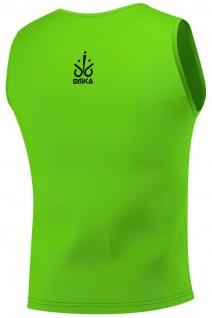 6 Stück OMKA Fußball Leibchen Trainingsleibchen Markierungshemd Fußballleibchen für Kinder Jugend und Erwachsene - Vorschau 5