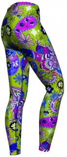Paisley Floral Leggings sehr dehnbar für Sport, Gymnastik, Training, Tanzen & Freizeit - Vorschau 2