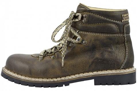 Trachtenschuhe Haferlschuhe Boots Jarrek 550-H Ziegenleder Braun