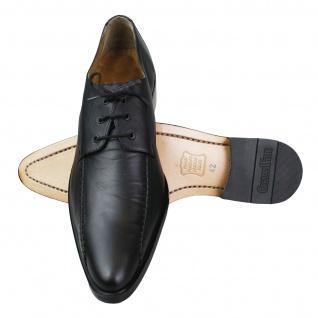 German Wear, Business-schuhe Derby Lederschuhe mit Ledersohle