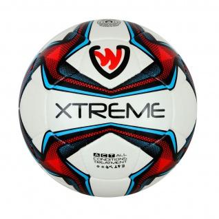 GermanWear Xtreme Fußball Größe 5 PU 1, 8mm Match Ball Turnierball - Vorschau 2