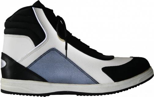 German Wear, Sneaker boots Leder Schuhe Sneakers aus Rindsleder Stiefeletten Schwarz/Grau/Weiß