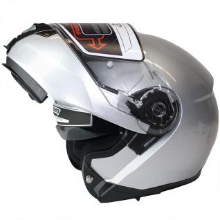 Marushin M-310 Motorrad Helm Klapphelm Sonnenblende sportliche Tourenfahrer - Vorschau 2
