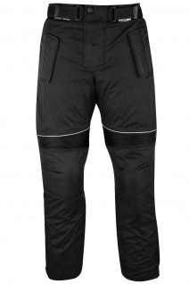 Motorradhose Cordura Textilhose, Schwarz