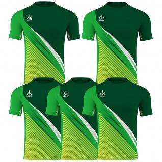 OMKA 5er Trikot-set Trikot Teamwear Fußball Handball Rugby Laufsport Volleyball