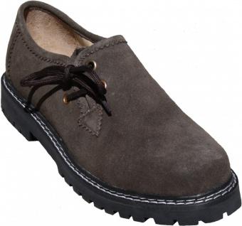Trachtenschuhe Haferlschuhe Trachten Schuhe aus Echtleder/Gummisohle