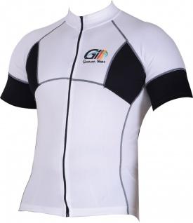 Trikot Radtrikot Fahrradtrikot Fahrrad Radler-Trikot Shirt Jersey Schwarz/Weiß