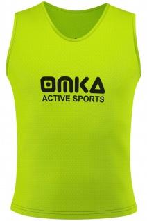 OMKA, Fußball Leibchen Trainingsleibchen Markierungshemd Fußballleibchen