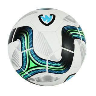 GermanWear Striker Fußball Größe 5 PU 1, 0 mm Thermo Bonded Match Ball Turnierball - Vorschau 2