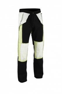 GermanWear Motorradjeans Motorradhose Futter aus Kevlar® stoff Jeans mit Protektoren schwarz - Vorschau 3