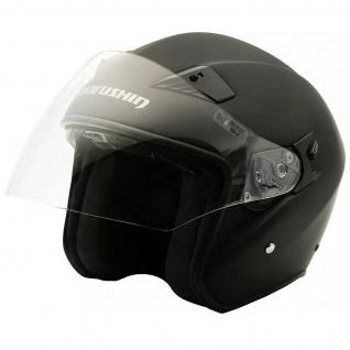 Marushin M-610 Motorrad Helm Jethelm Sonnenblende sportliche Tourenfahrer - Vorschau 5