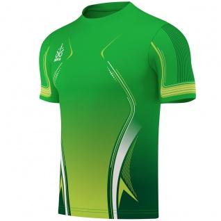 OMKA Trikot Teamsport Teamwear Fussballtrikot Fantrikot Shirt Jersey Grün - Vorschau 2