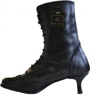 Trachtenstiefel budapester echtleder Trachten Schuhe für Dirndl & Lederhosen