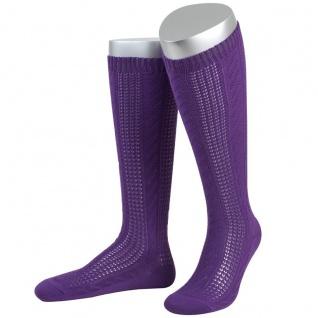 Damen Trachtensocken Trachtenstrümpfe Zopf Socken - Vorschau 4
