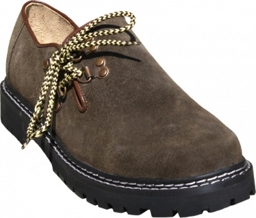 Trachtenschuhe Haferlschuhe Trachten Schuhe aus Wildleder & Gummisohle